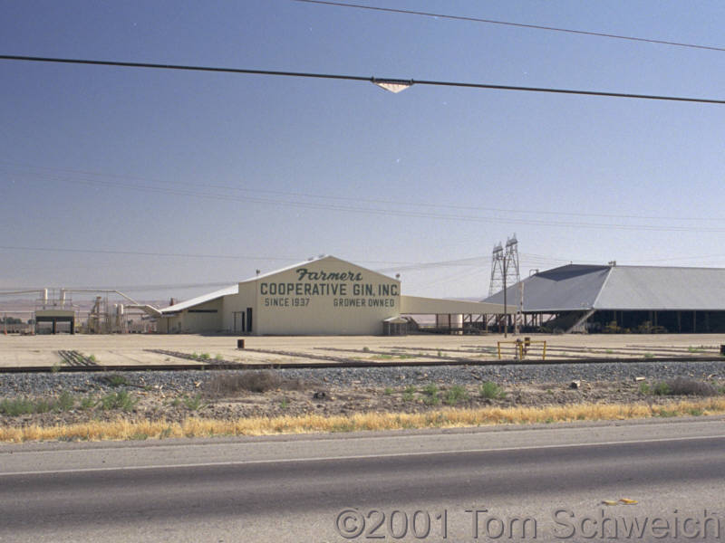 Cooperative Cotton Gin near Buttonwillow.
