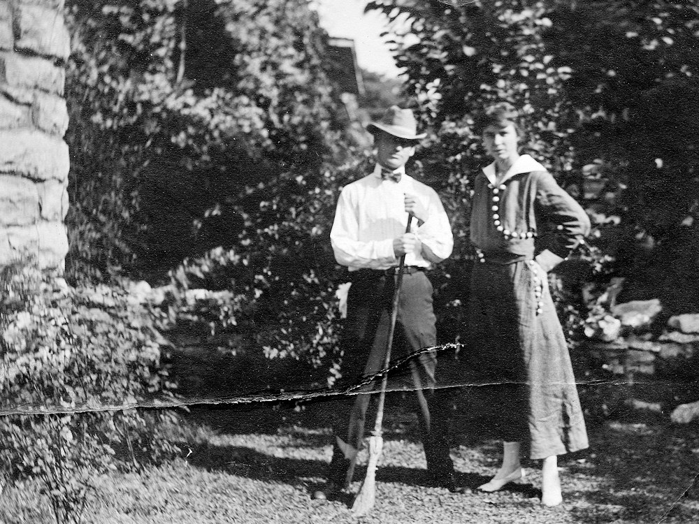 Irma and Paul Schweich, about 1910