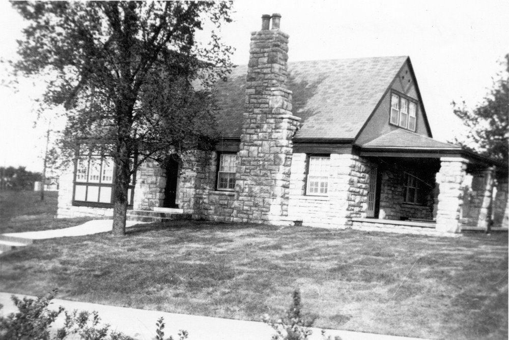 Front of House in 1928