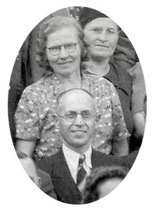 Anna Korolewicz and Peter Pawluk at the 1939 Baptist Convention
