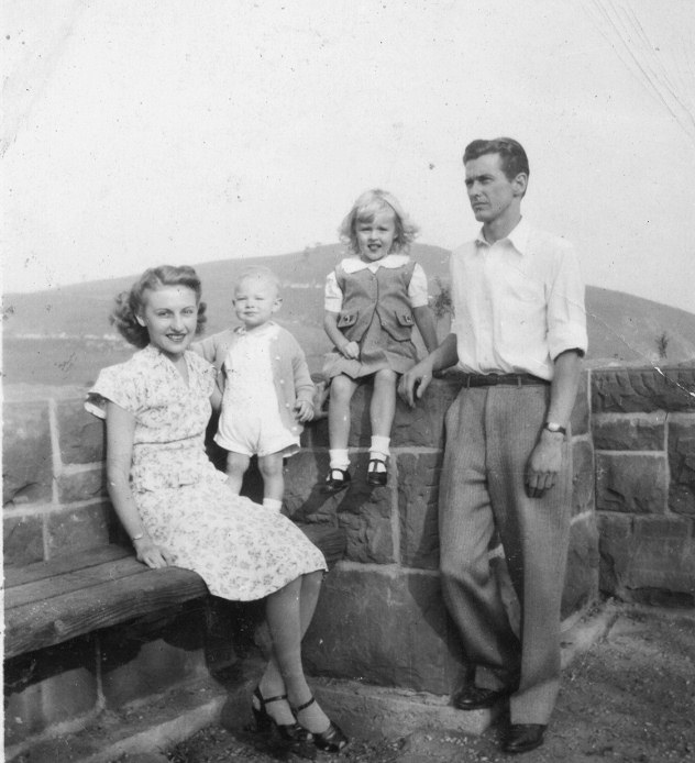 Family group, March 1946.