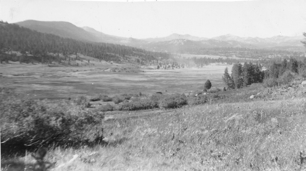 Hope Valley in Summer 1954