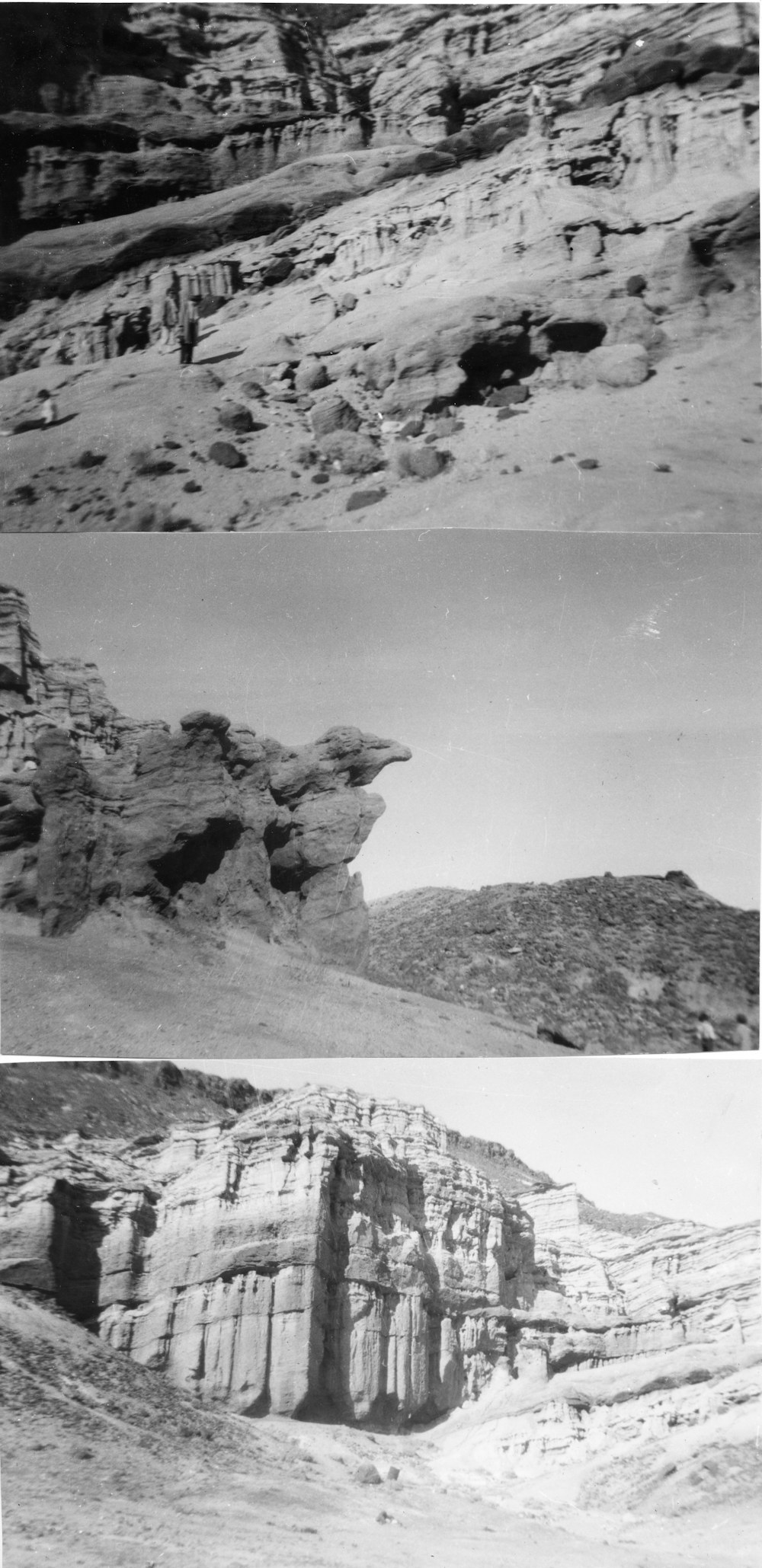 Red Rock Canyon the day after Christmas, 1955
