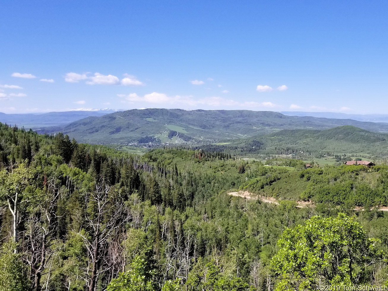 Colorado, Routt County, Steamboat Springs