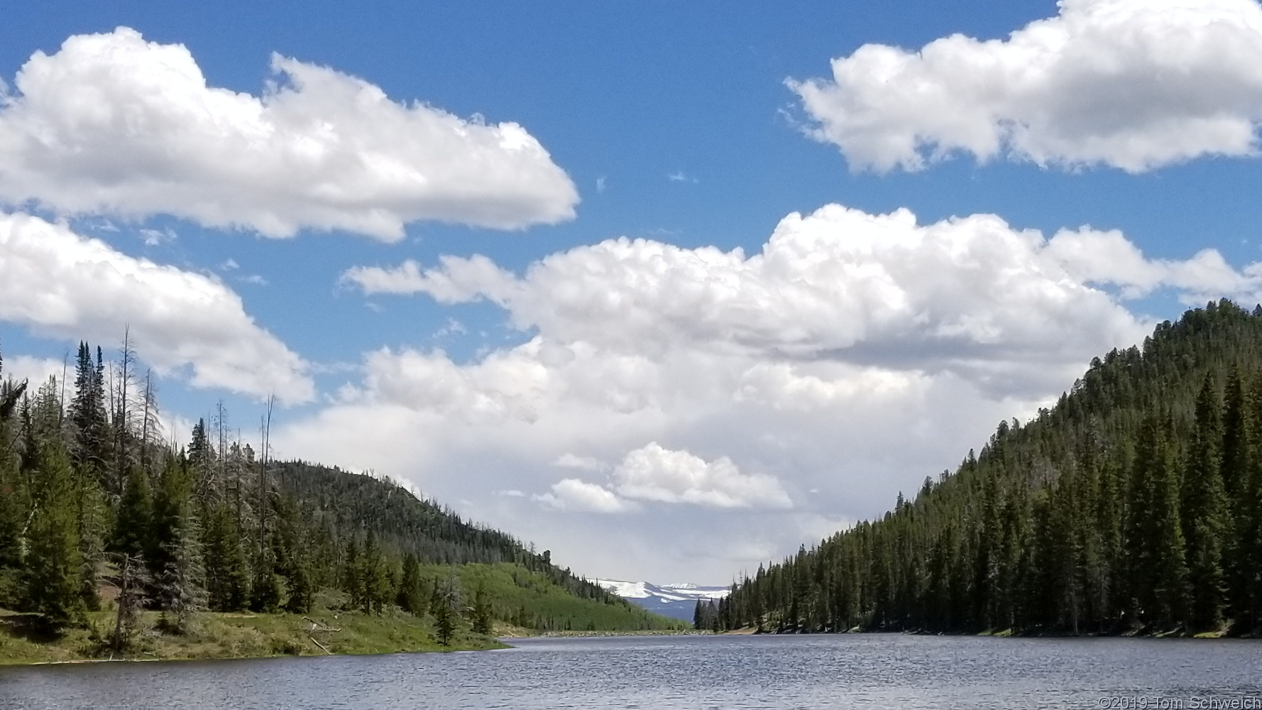 Colorado, Routt County, Hahns Peak Lake