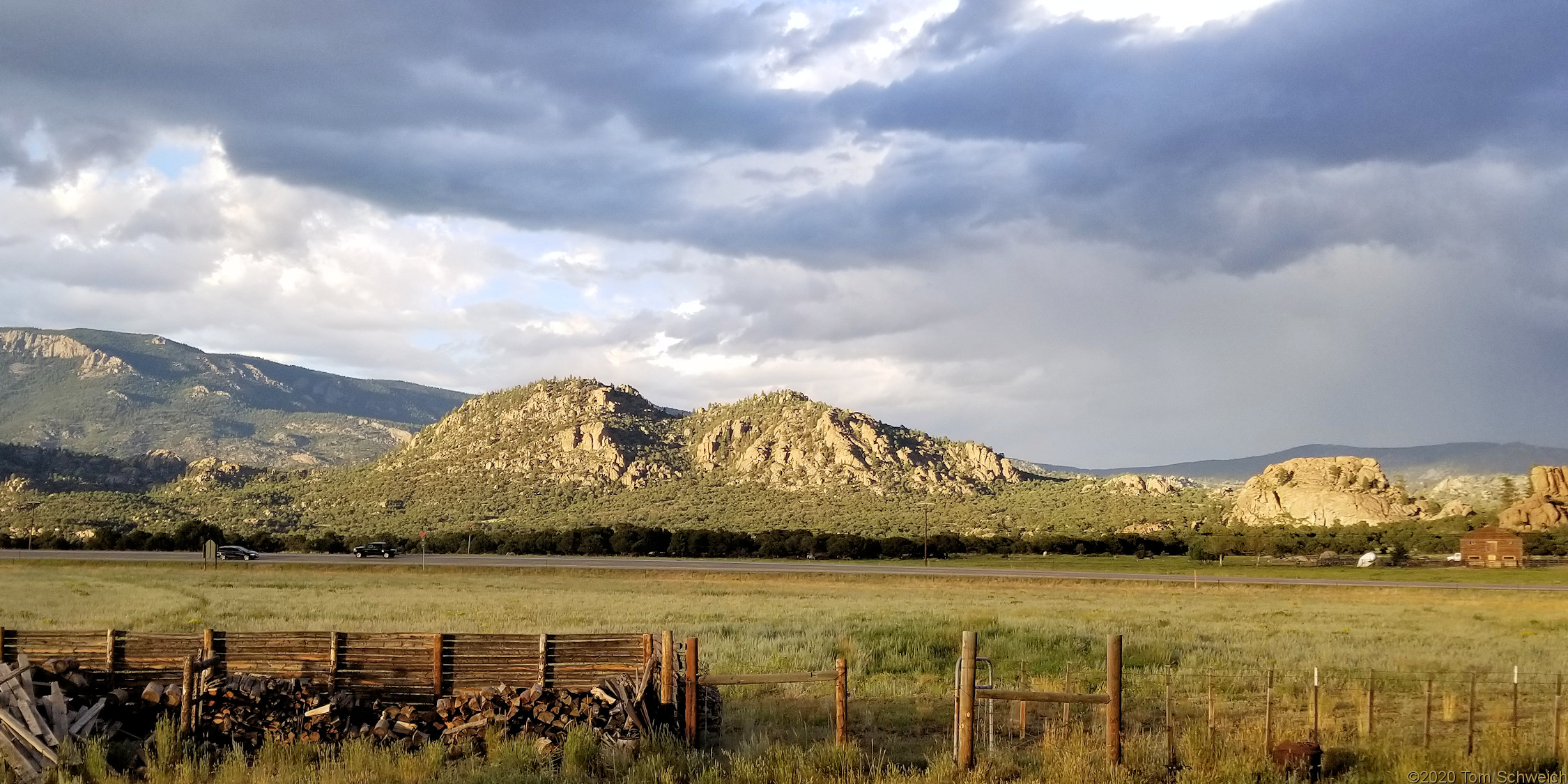 Chaffee County, Elephant Rock
