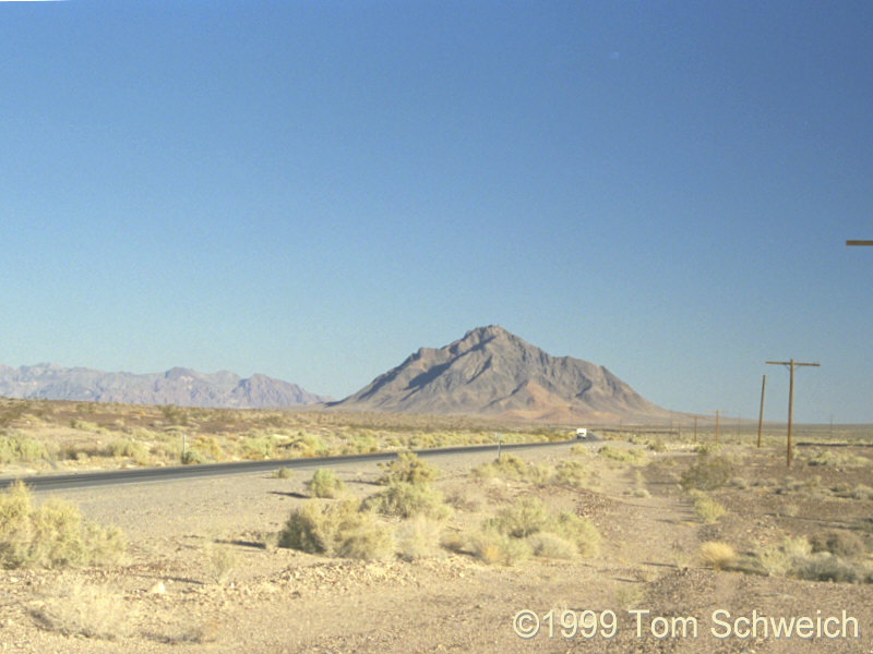 Eagle Mountain in the Amargosa River Valley.