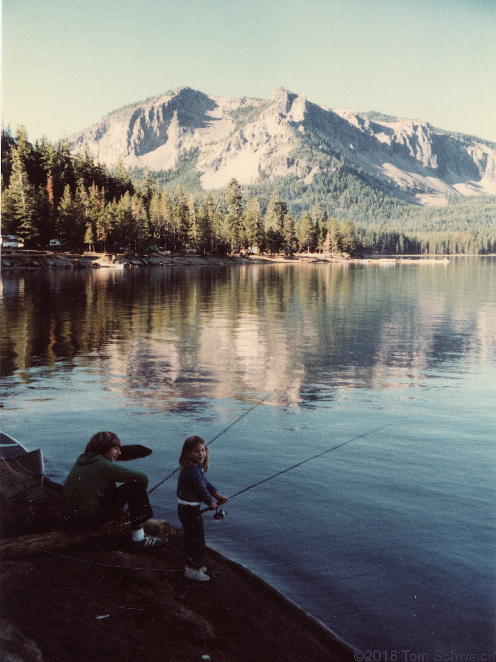 Oregon, Deschutes County, Paulina Lake
