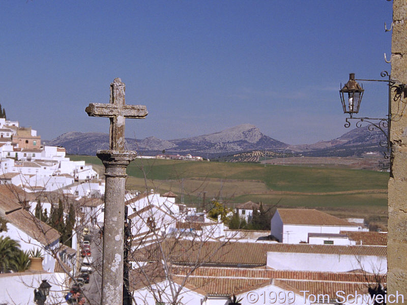 View of countryside northeast from Ronda.