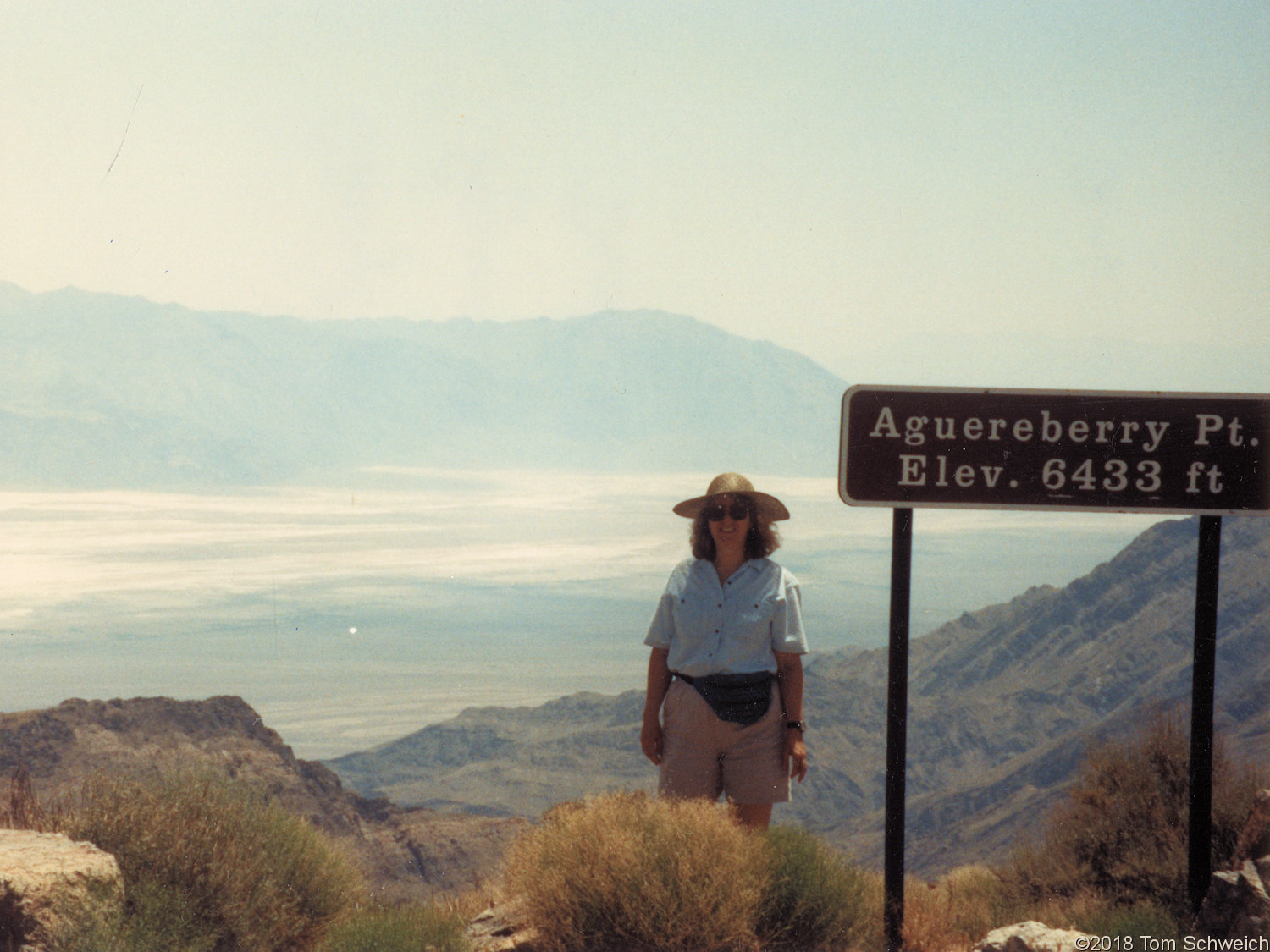 California, Inyo County, Aguereberry Point