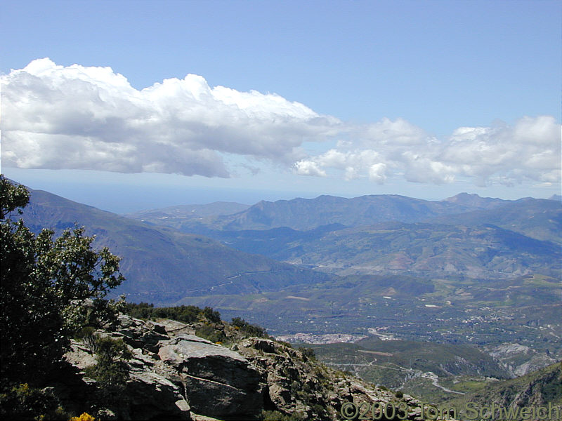 East end of the Valle de Lecrín.