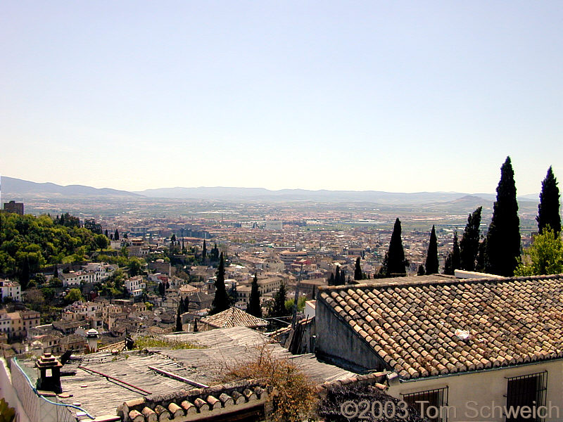 View south from Mirador de San Nicolas.