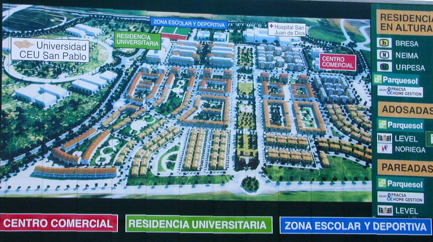 Development plan for Ciudad de Universitario.