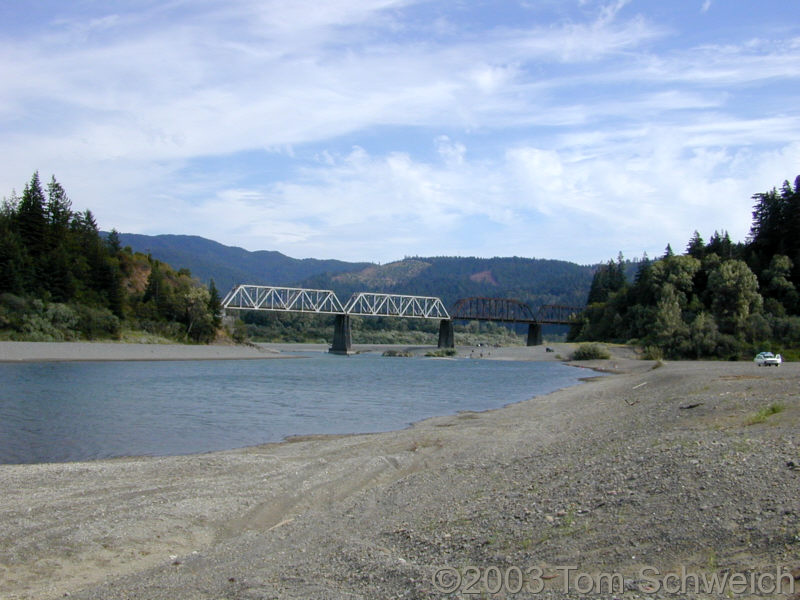 Eel River at Dyerville (site)
