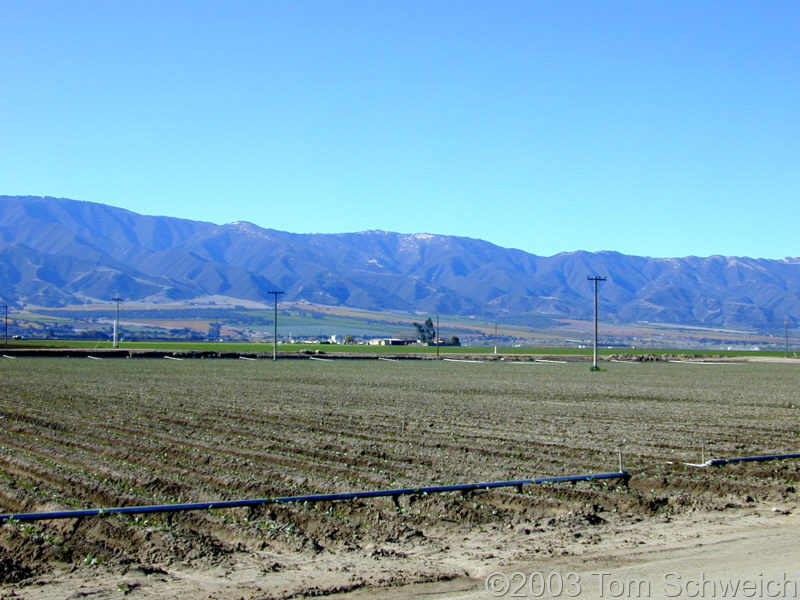 Salinas Valley and the Sierra de Salinas