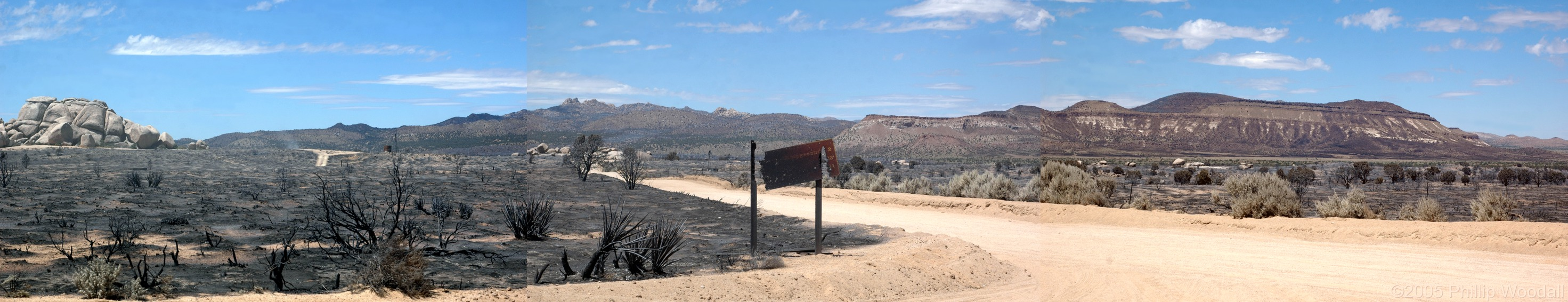 Round Valley, Hackberry Fire Complex, Mojave National Preserve