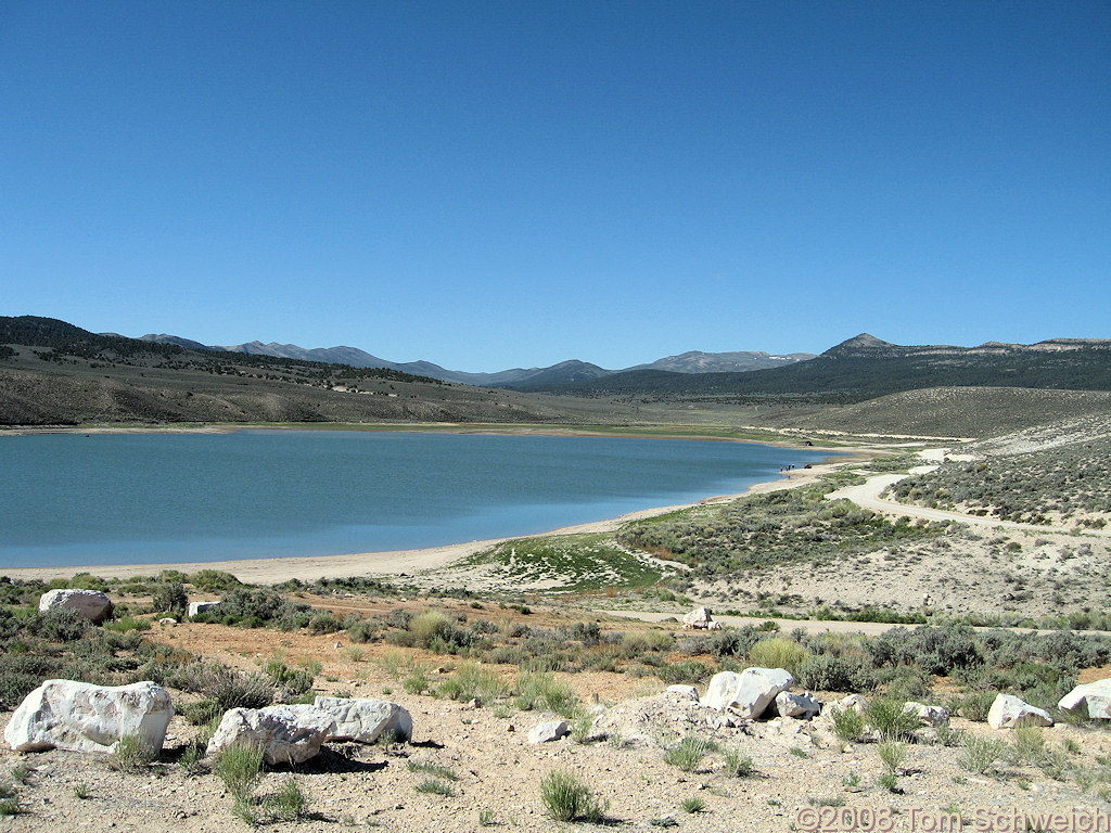 Nevada, White Pine County, Illipah Creek Reservoir
