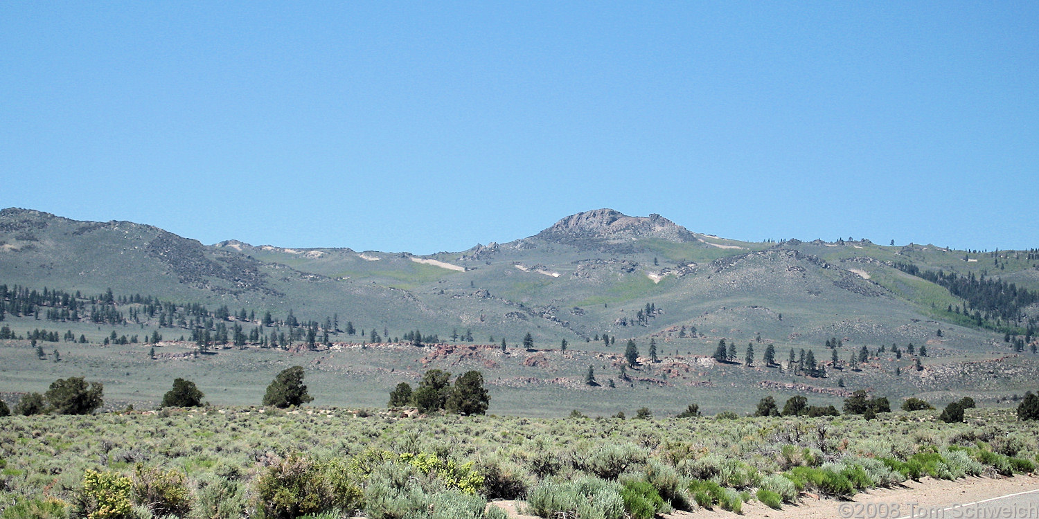 Californa, Mono County, Sagehen Peak