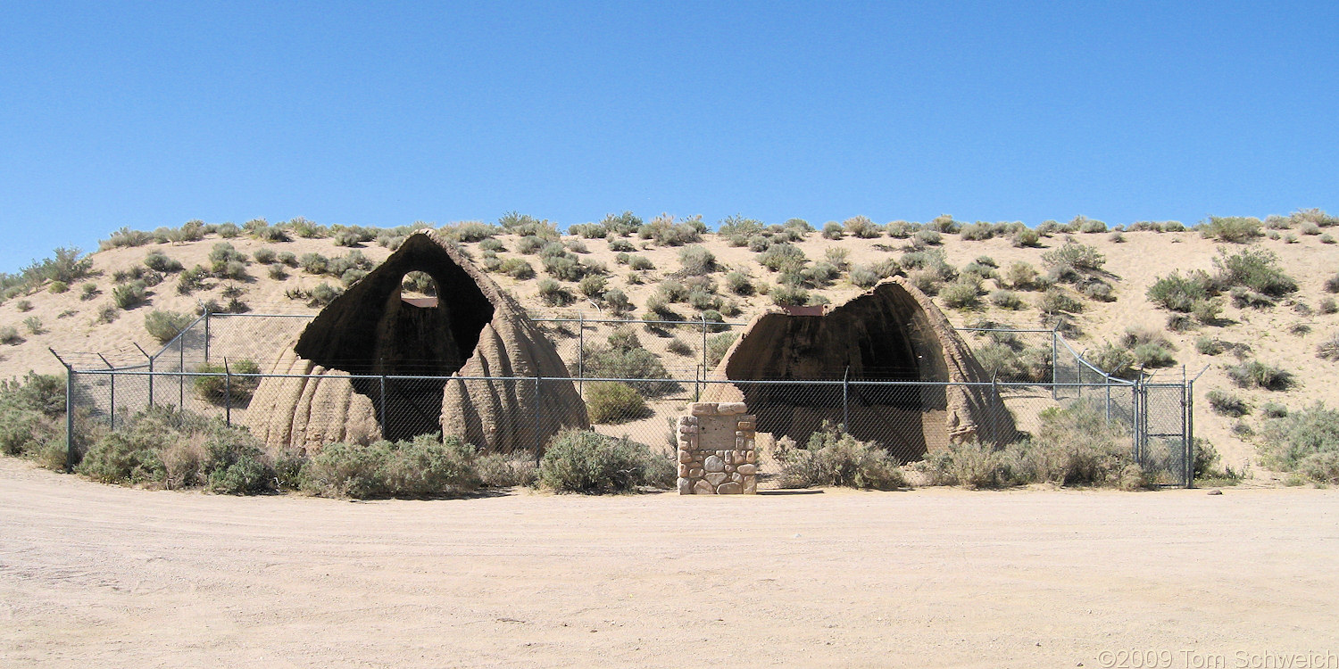 California, Inyo County, Cottonwood Charcoal Kilns