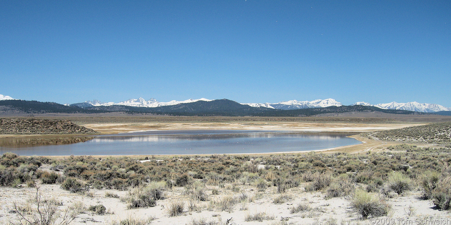 California, Mono County, Long Valley, Big Alkali Lake
