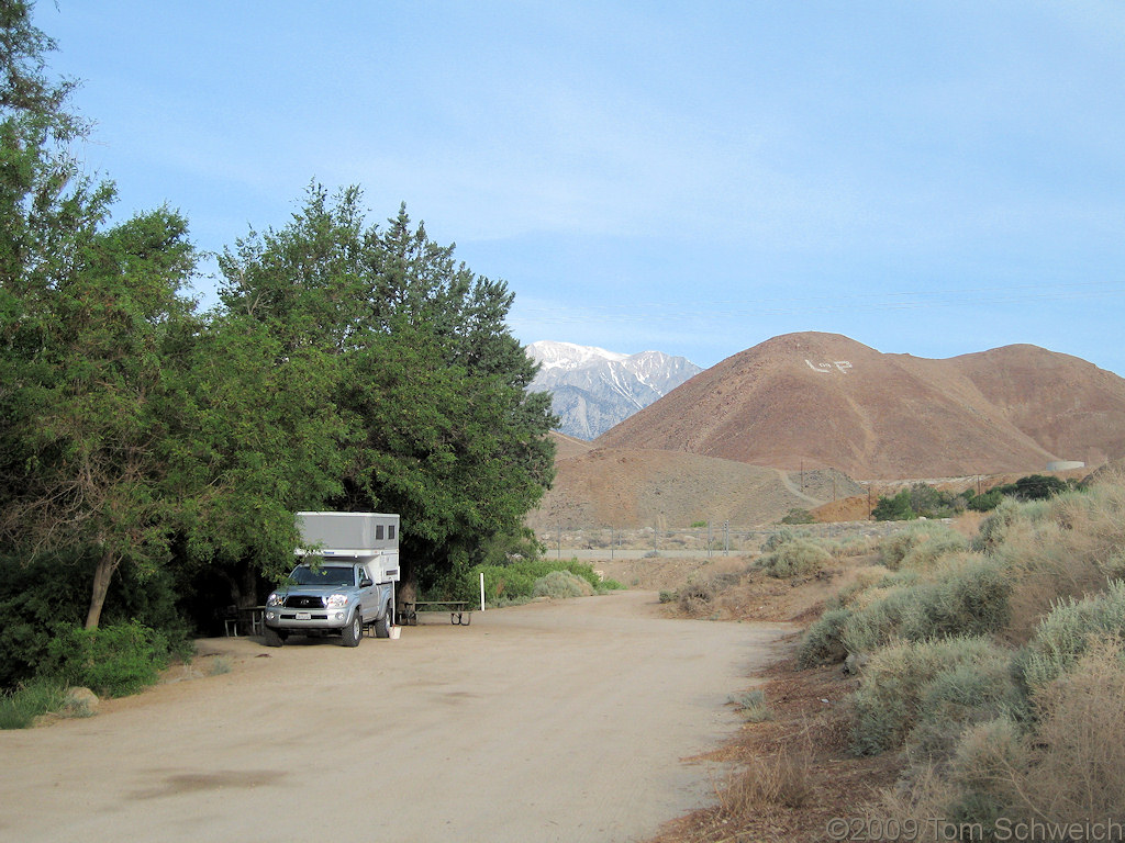 Portagee Joe Campground, Lone Pine, Inyo County, California