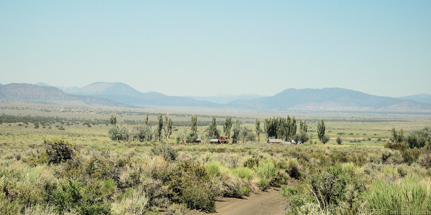 Dechambeau Ranch, Mono County, California