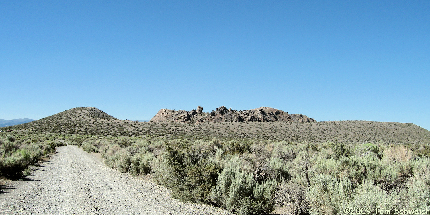 Panum Crater, Mono County, California