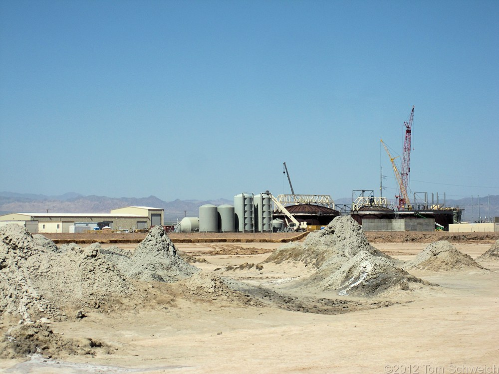 California, Imperial County, Salton Sea Geothermal Area