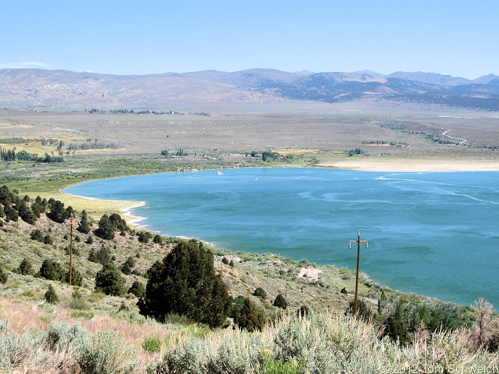 California, Mono County, Mono Lake, northwest shore