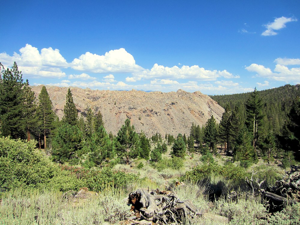 California, Mono County, Obsidian Dome