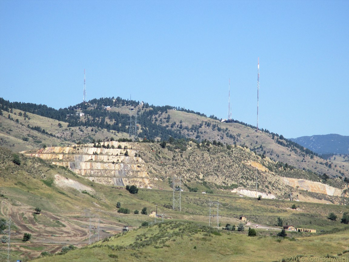 Colorado, Jefferson County, Lookout Mountain