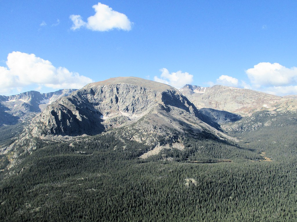 Colorado, Larimer County, Rocky Mountain National Park, Terra Tomah Mountsin