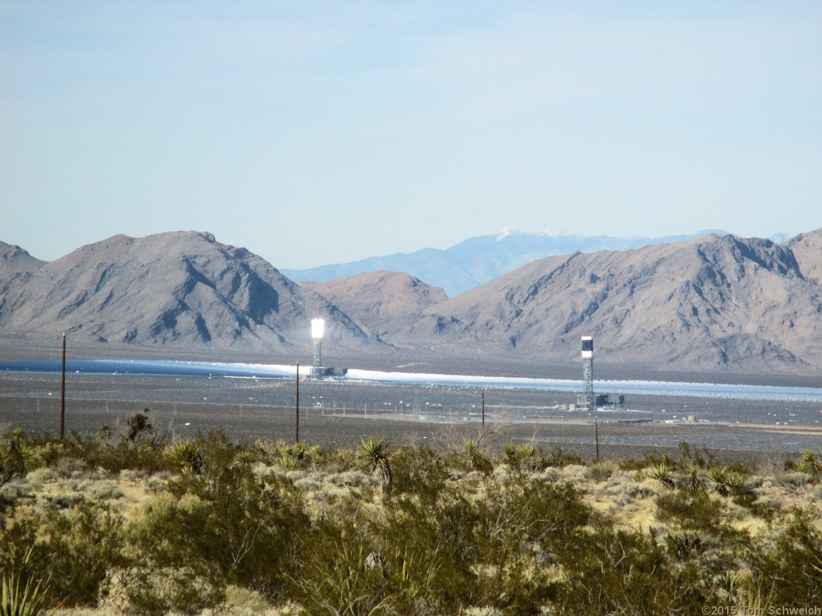 California, San Bernardino County, Ivanpah Valley