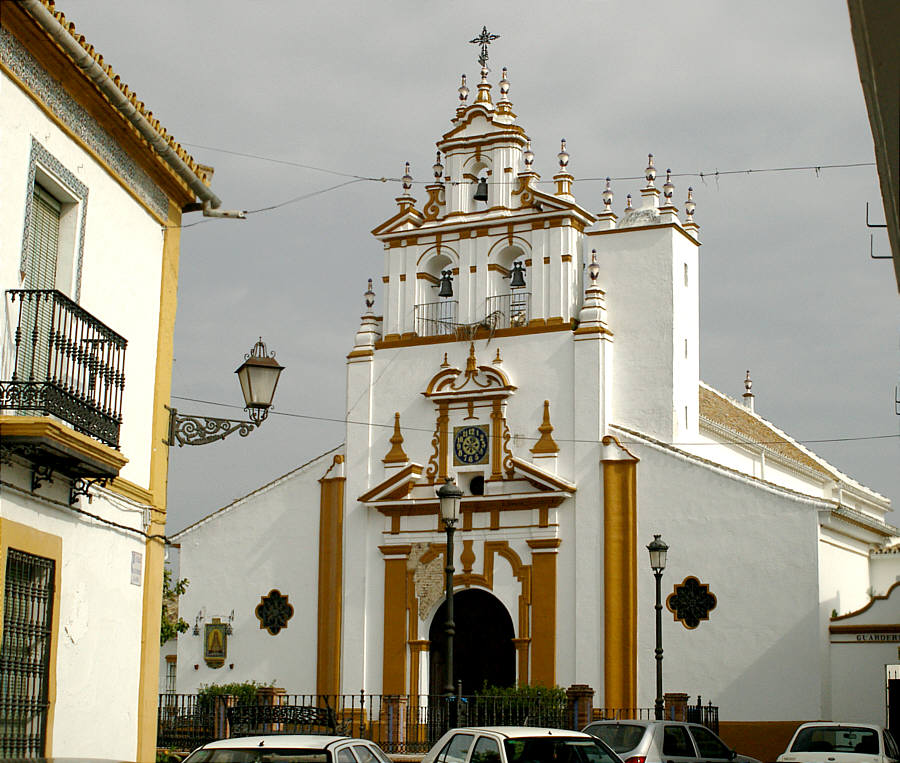 The Church in Bormujos.