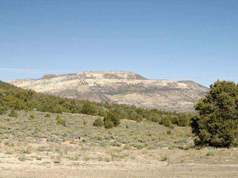 Rhyolite Ridge as seen from Coyote Pass