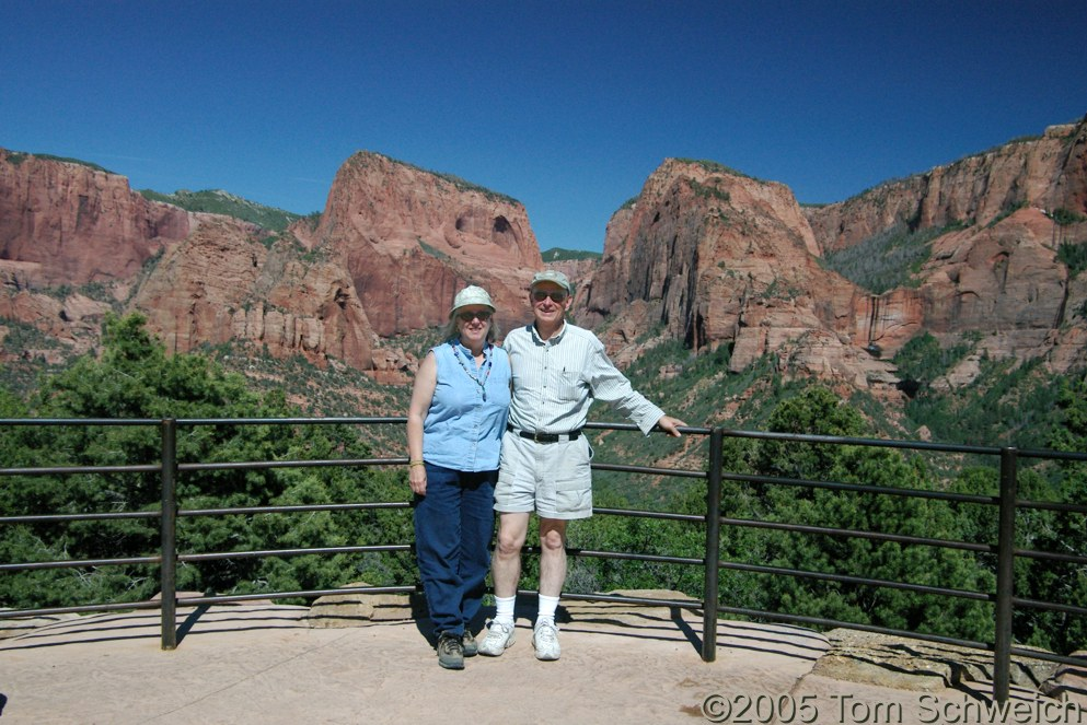 Kolob Canyons, Zion National Park, Mountain County, Utah
