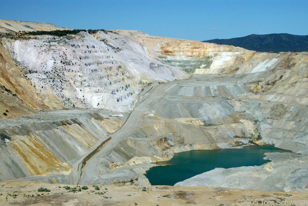 Liberty Pit, Robinson Mining District, White Pine County, Nevada