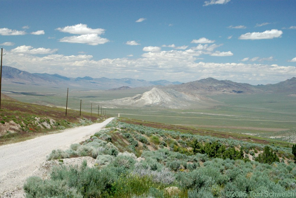 Fairview Peak, Earthquake Fault, Churchill County, Nevada
