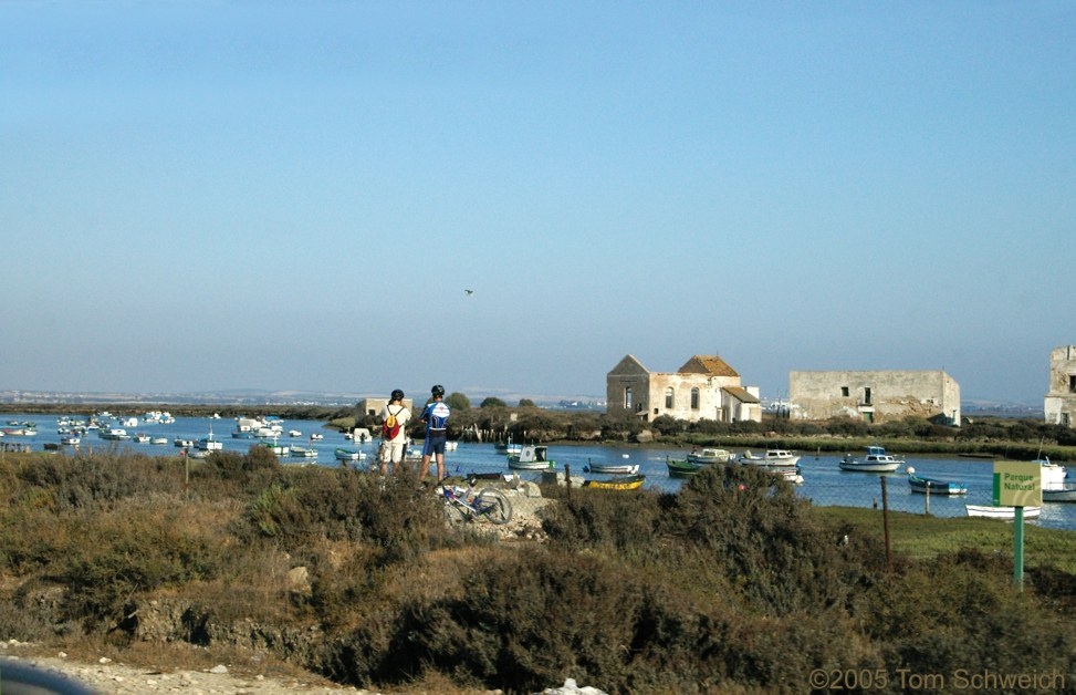 estuary, Cadiz, Andalucia, Spain