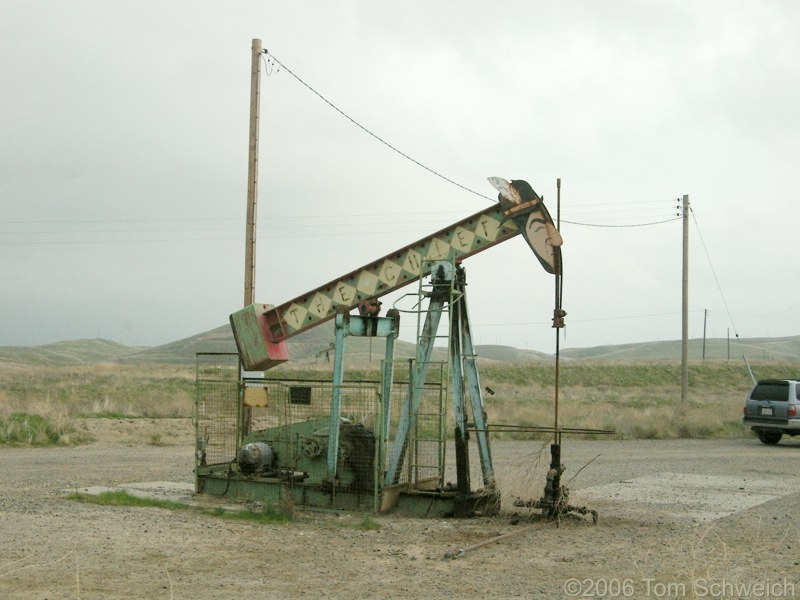 Oil pump, The Chief, Iron Zoo, Fresno County, California