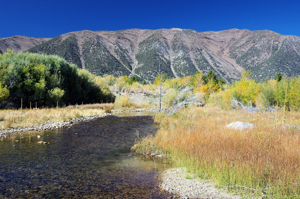 California, Mono County, Lee Vining Creek delta