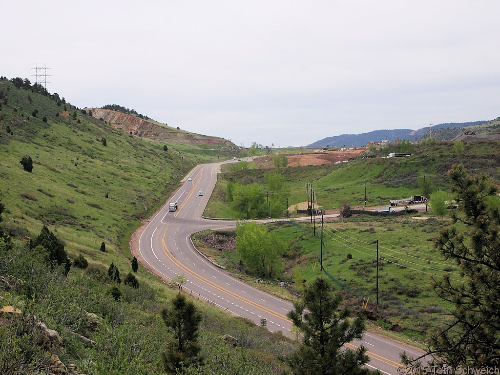 Colorado, Jefferson County, Golden, Tin Cup Ridge
