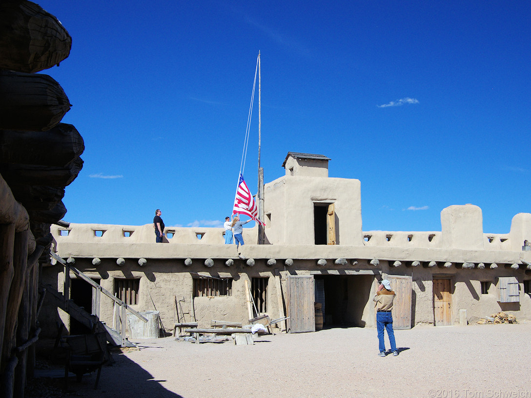 Bent's Old Fort in La Junta, Colorado.