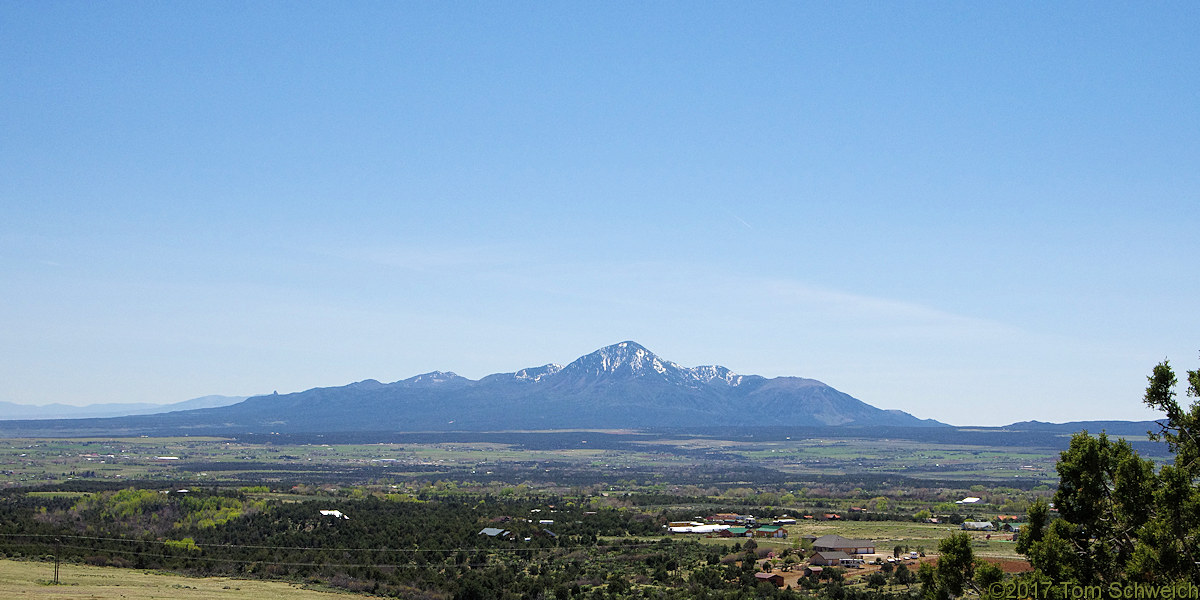 Colorado, Montezuma County, Sleeping Ute Mountain