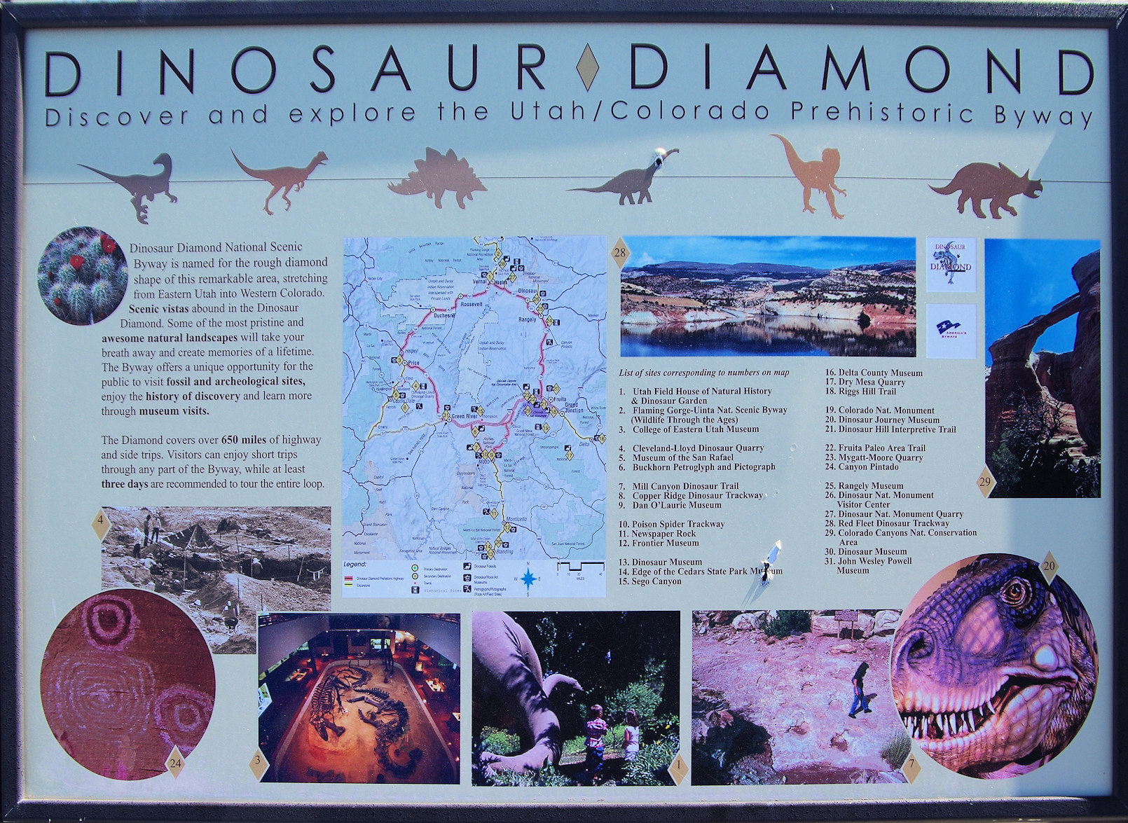 Utah, Dinosaur Diamond