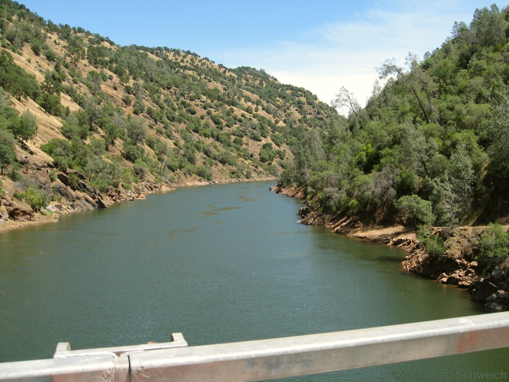 Tuolumne River, Don Pedro Reservoir, Tuolumne County, California