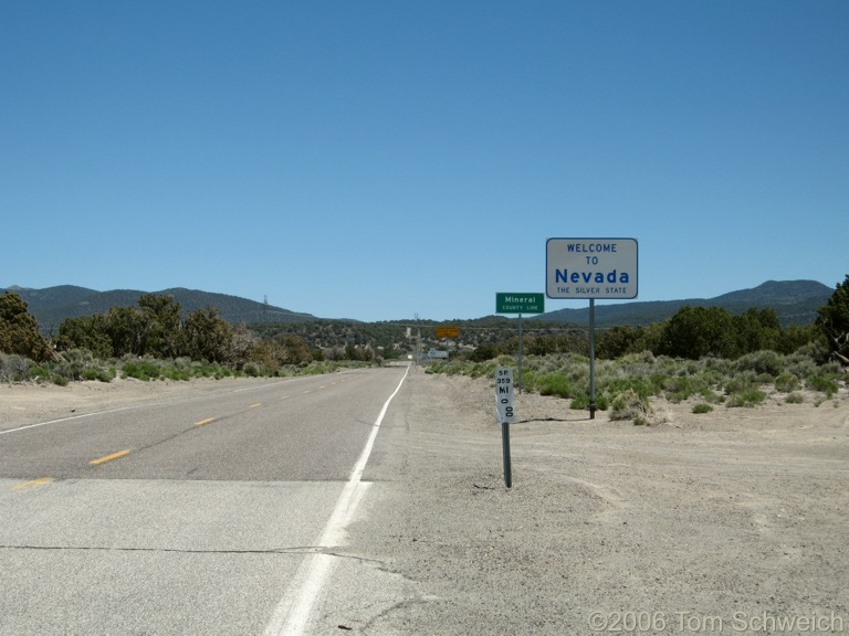 Nevada State Line, Mono County, California