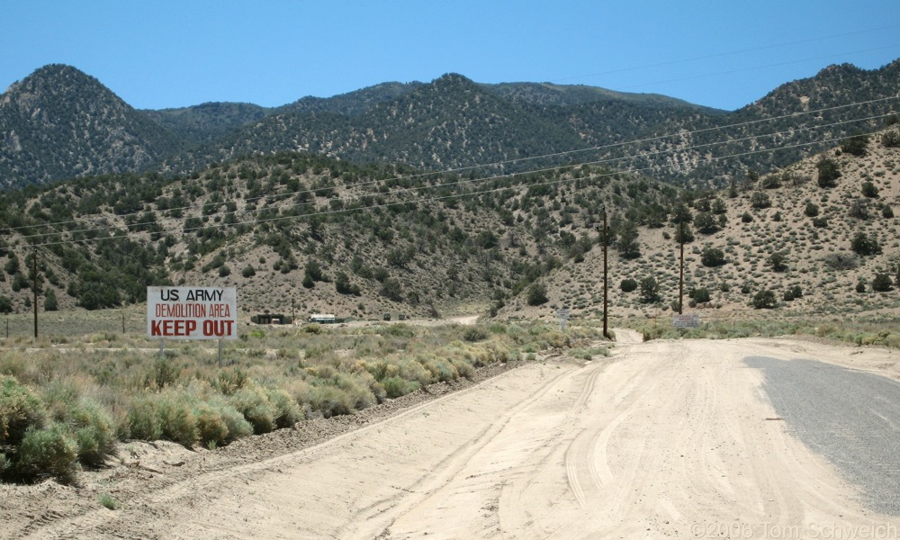 Army Demolition Area, Mineral County, Nevada
