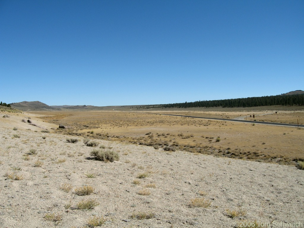 Big Sand Flat, Mono County, California