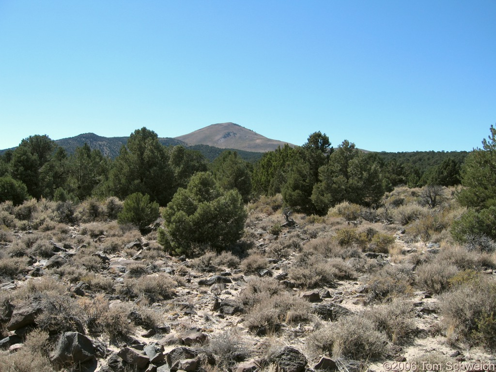 Mount Hicks, Spillway, Mineral County, Nevada